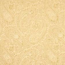 Cream Paisley Decorator Fabric by G P & J Baker