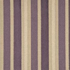 Lavender Stripes Decorator Fabric by G P & J Baker