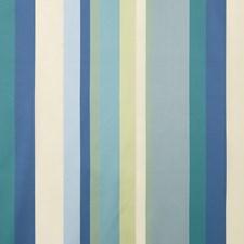 Indigo/Teal/Delft Stripes Decorator Fabric by G P & J Baker