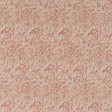 Venetian Red Damask Decorator Fabric by G P & J Baker