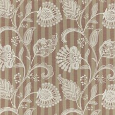 Spice Embroidery Decorator Fabric by G P & J Baker