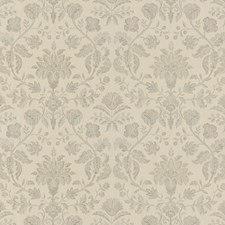 Parchment Embroidery Decorator Fabric by G P & J Baker