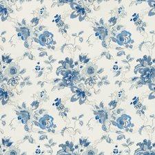 Azure Botanical Decorator Fabric by Lee Jofa