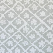Grey/Oyster Botanical Decorator Fabric by Lee Jofa