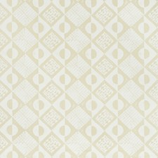 Off White Print Decorator Fabric by Lee Jofa