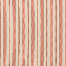 Coral Stripes Decorator Fabric by Lee Jofa