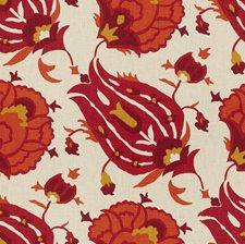 Fuchsia/Orange Ethnic Decorator Fabric by G P & J Baker
