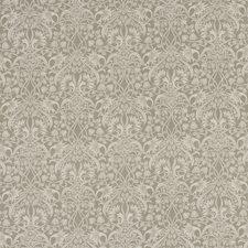 Warm Grey Print Decorator Fabric by G P & J Baker