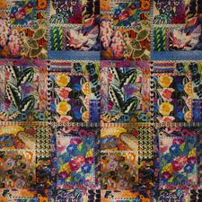 Multi Print Decorator Fabric by G P & J Baker