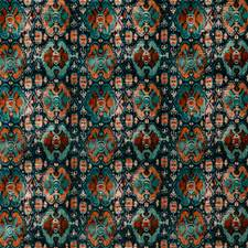 Teal Velvet Decorator Fabric by G P & J Baker