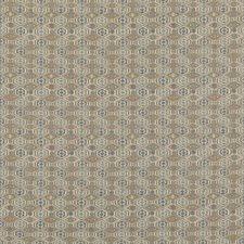 Soft Blue Animal Decorator Fabric by G P & J Baker