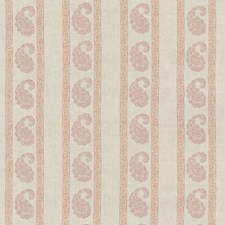 Red Print Decorator Fabric by G P & J Baker