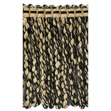 Cut Fringe Hemp/Black Trim by Brunschwig & Fils