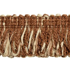 Cut Fringe Copper and Parfait Trim by Brunschwig & Fils