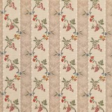 Beige Print Decorator Fabric by Brunschwig & Fils