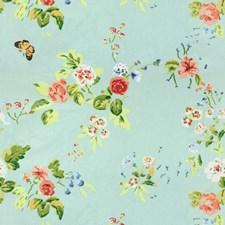 Ink On Blue Print Decorator Fabric by Brunschwig & Fils