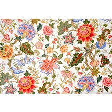 Ecru Botanical Decorator Fabric by Brunschwig & Fils