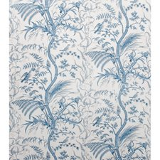 Blue Toile Decorator Fabric by Brunschwig & Fils