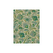 Turquiose Paisley Decorator Fabric by Brunschwig & Fils