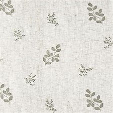 Ivory Botanical Decorator Fabric by G P & J Baker