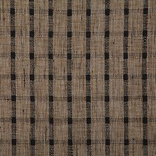 Black Check Decorator Fabric by Pindler
