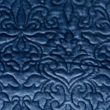 Navy Decorator Fabric by Scalamandre