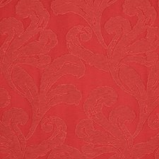 Crimson Decorator Fabric by Scalamandre