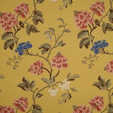 Multi On Giallo Decorator Fabric by Scalamandre