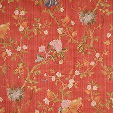 Multi On Cinnabar Decorator Fabric by Scalamandre