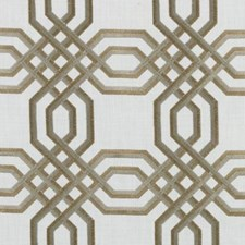Natural/gold Decorator Fabric by Duralee