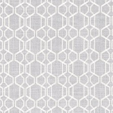 Silver Trellis Decorator Fabric by Duralee