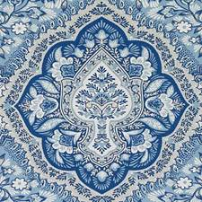 Blue Large Scale Decorator Fabric by Duralee