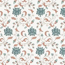 Coral Leaf Decorator Fabric by Duralee