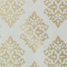 Natural/Gold Novelty Decorator Fabric by Duralee