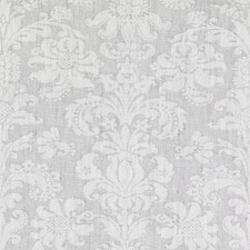 Grey Damask Decorator Fabric by Duralee