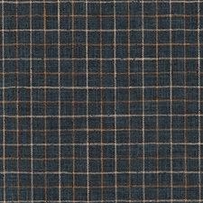 Indigo Plaid Decorator Fabric by Duralee