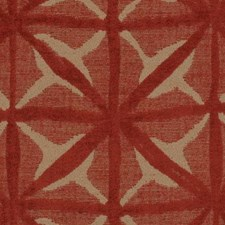 Tomato Abstract Decorator Fabric by Duralee