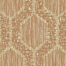 Papaya Geometric Decorator Fabric by Duralee