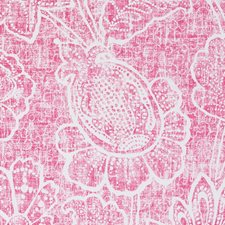 Bubble Gum Floral Large Decorator Fabric by Duralee