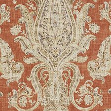 Terracotta Large Scale Decorator Fabric by Duralee