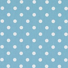 Turquoise Dots Decorator Fabric by Duralee