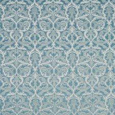Teal Decorator Fabric by Silver State