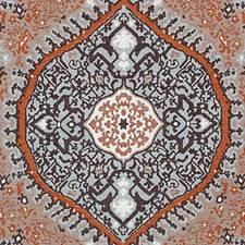 Papaya Chenille Decorator Fabric by Duralee