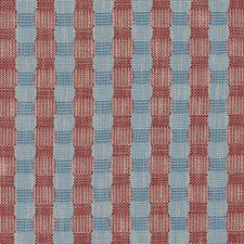 Red/Blue Plaid Decorator Fabric by Duralee