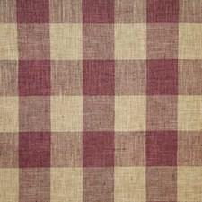 Mulberry Check Decorator Fabric by Pindler
