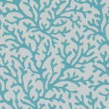 Turquoise Nautical Decorator Fabric by Duralee