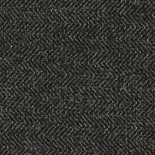 Black Herringbone Decorator Fabric by Duralee