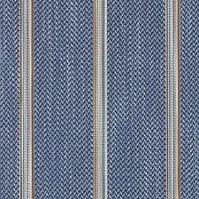Marine Herringbone Decorator Fabric by Duralee