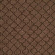 Cocoa Lattice Decorator Fabric by Threads