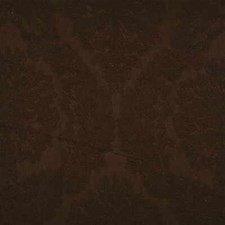 Cocoa Damask Decorator Fabric by Threads